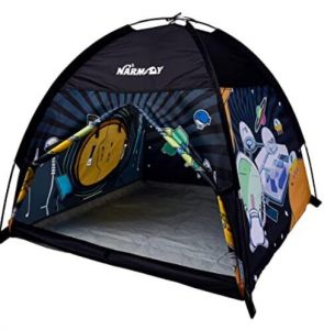 kids play tent when camping with families