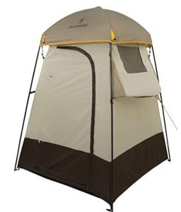 Browning Camping portable tent for shower with angled windows