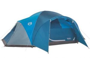 coleman arrowhead 8 person tent review