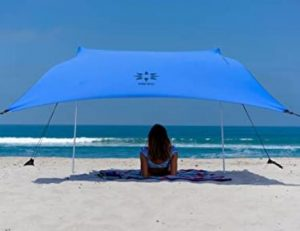 neso portable beach sun shade without floor