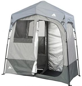 Ozark Trail portable shower tent with changing room