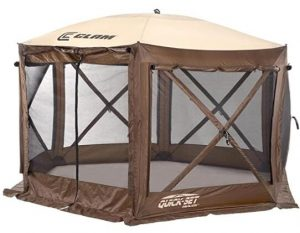 clam screen house portable tent review