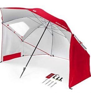 Sport-Brella portable umbrella for sunny beach