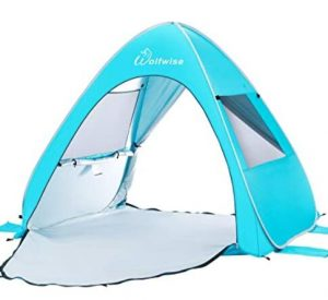 WolfWise portable popp up beach tent
