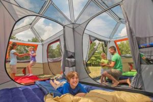 benefits of using a multi room tent