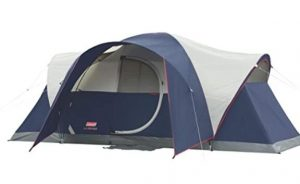 Coleman 8 person tent for family camping