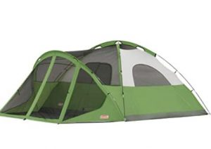 coleman evanston dome tent with screen room review