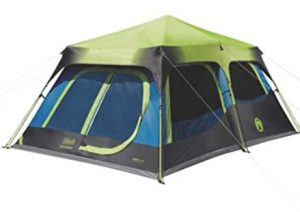 Coleman dark rest cabin camping tent for family of 10 review