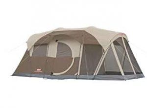 Coleman WeatherMaster tent with screen room under 500