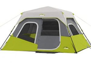Core 6 person tent with instant setup