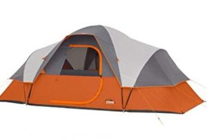 Core 9 person tent with extended dome under 200