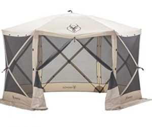 Gazelle pop up screen tent for camping under 500