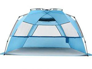 Pacific Breeze pop up beach tent under 500 review