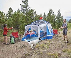 wenzel klondike 8 person family tent