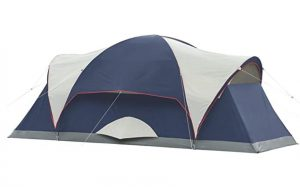 coleman elite montana 8 person tent with led light