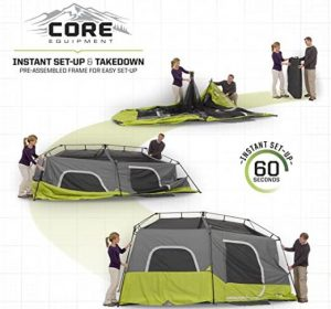 easy to set up tent for camping
