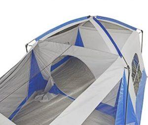 wenzel 8 person klondike tent blue