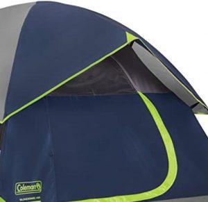 coleman 7x7 sundome tent