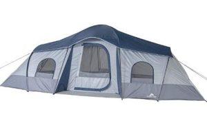 ozark trail 20 x 10 3 room tent