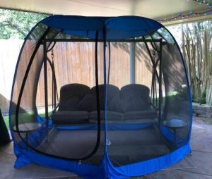 Alvantor screened tent for summer