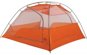 A backpacking tent for 4 men