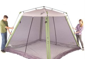 Coleman 15 x 13 instant screenhouse for couple