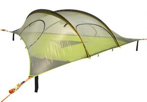 Tree tent with center hatch