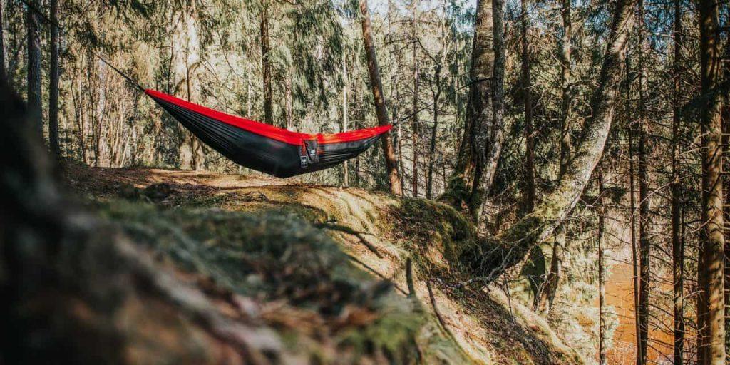 hanging tree hammock tent