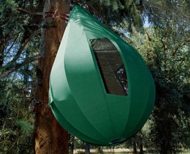 teardrop tree tent