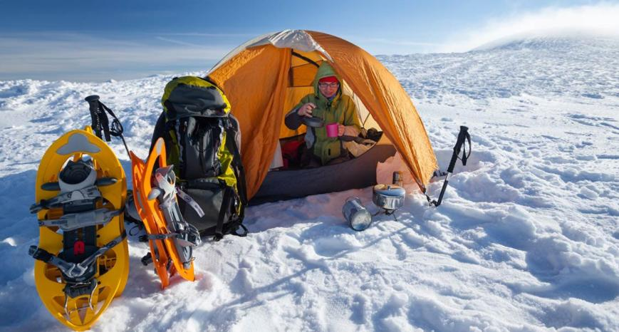 insulation materials for winter camping in tent