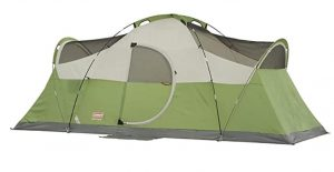 Coleman freestanding tent with large room