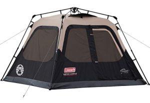 Coleman Cabin camping freestanding tent