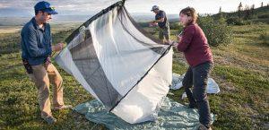 ways to set up a tent