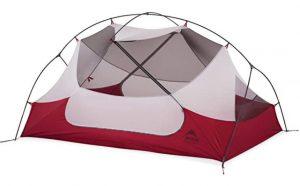 MSR lightweight backpacking freestanding tent