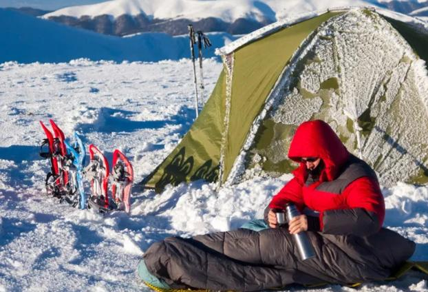 hot water can make you warmer in a tent
