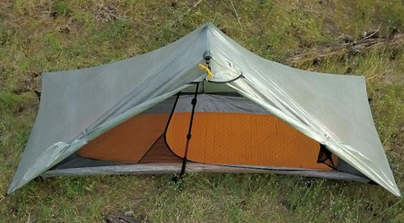 stablize your tarp for camping