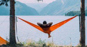 set up a hammock between close trees