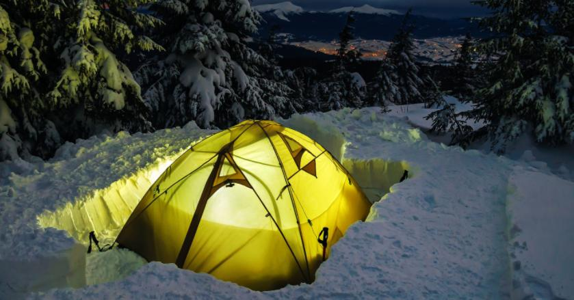 ways to insulate tent in winter