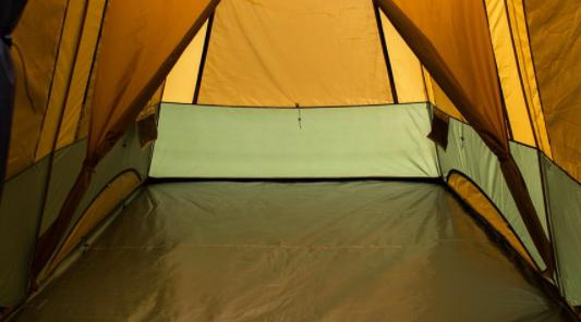 steps to seal the tent floor