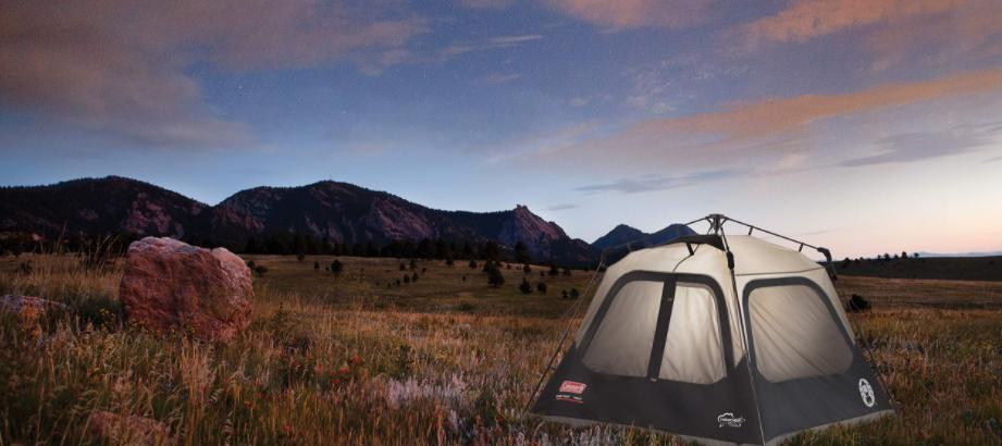 ways to set up a cabin tent