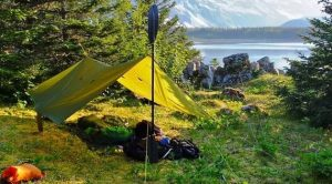 ways to set up a tarp for camping
