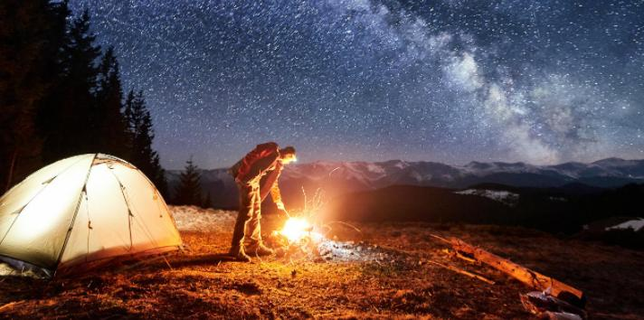 ways to build a good bonfire