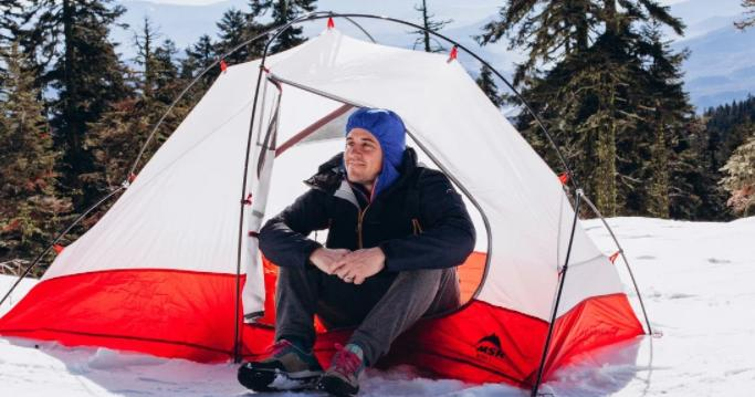 ways to insulate your tent for winter camping