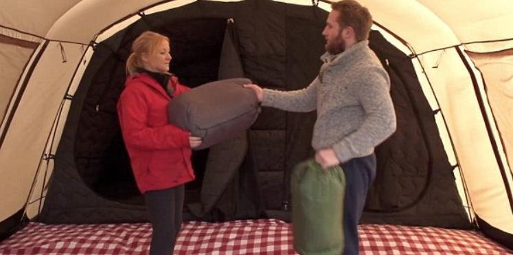 insulation tricks for winter tent camping