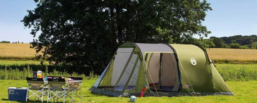 how to put up a tunnel tent