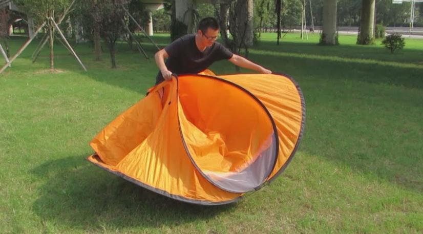 make your tent pop up