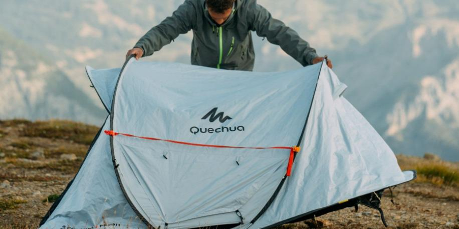 prepare before folding up your pop up tent