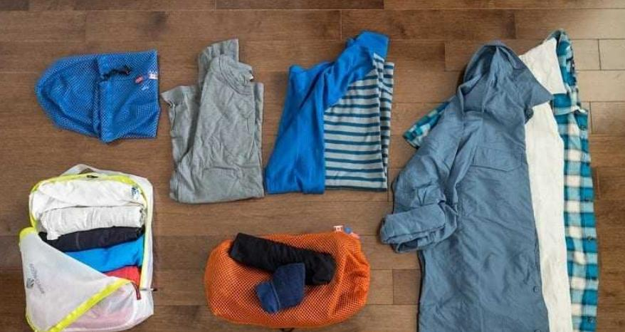 prepare suitable clothes for your first time camping