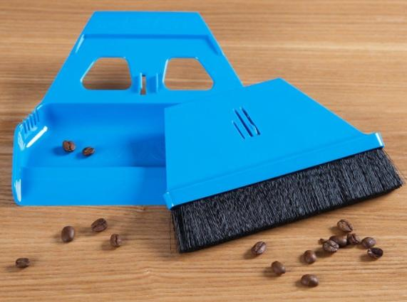 carry a portable broom for camping cleaning
