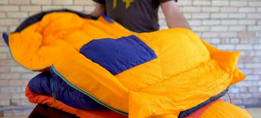 tips for stuffing a sleeping bag